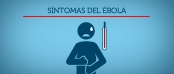 Gráfico sobre los síntomas del ébola