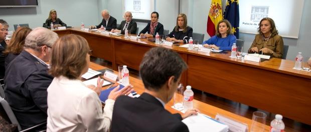 Imagen de la reunión del comité especial