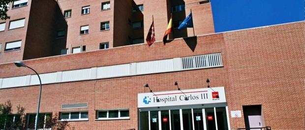 Entrada del Hospital Carlos IIII