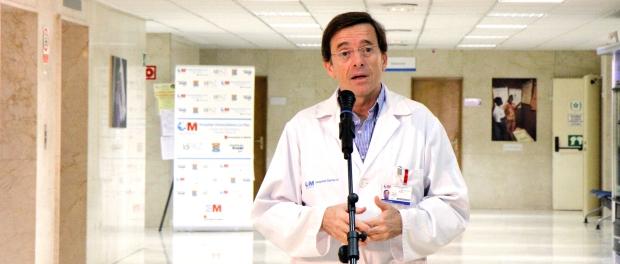 El Doctor José Ramón Arribas, jefe de la Unidad de Infecciosas del Carlos III- La Paz