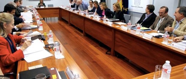 Imagen de la reunión del 17 de octubre